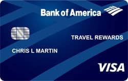 Bank Of America Travel Rewards Credit Card For Students