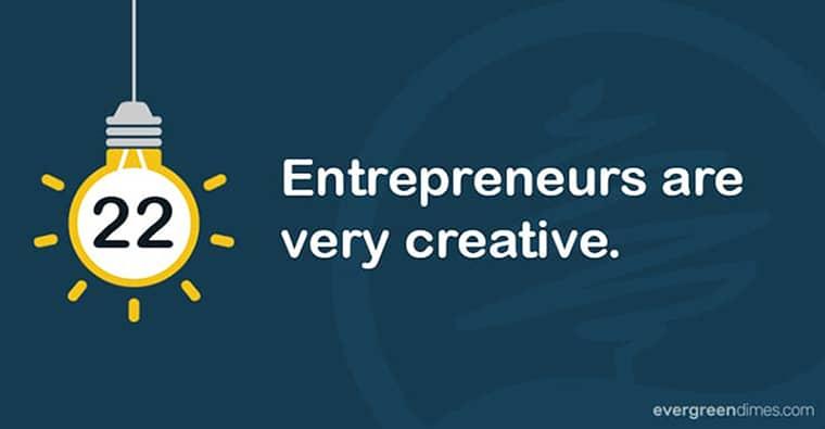 Entrepreneurs Are Creative