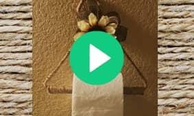 Farmhouse Toilet Paper Holder