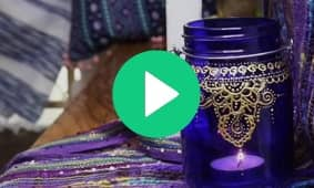 Moroccan Mason Jar Lanterns