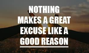 Poor People Make Excuses