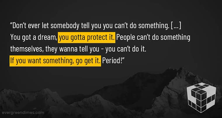 Movie Quotes About Getting Things Done